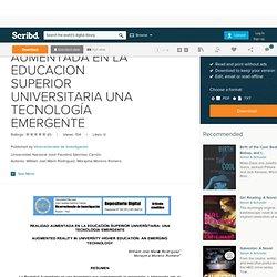 REALIDAD AUMENTADA EN LA EDUCACION SUPERIOR UNIVERSITARIA UNA TECNOLOGÍA EMERGENTE