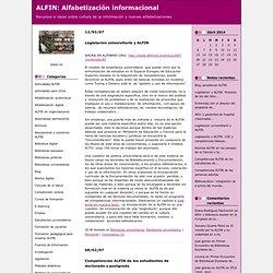 ALFIN : Bibliotecas universitarias (Alfabetización informacional)