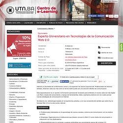Curso online - Experto Universitario en Tecnologías de la Comunicación Web 2.0 a distancia
