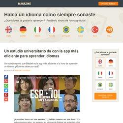 Un estudio universitario da con la app más eficiente para aprender idiomas - Babbel.com
