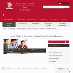 Máster Oficial Universitario en eLearning y Tecnología Educativa
