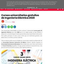 Cursos universitarios gratuitos de Ingeniería Eléctrica 2020
