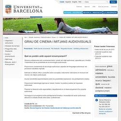 GRAU DE CINEMA I MITJANS AUDIOVISUALS