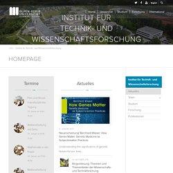 Institut für Technik- und Wissenschaftsforschung – Alpen-Adria-Universität Klagenfurt