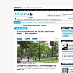 """Université : l'essor du modèle américain selon """"The Economist"""""""