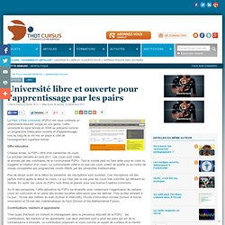Université libre et ouverte pour l'apprentissage par les pairs : Articles : Activités : Thot Cursus