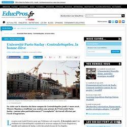17/03 Université Paris-Saclay : CentraleSupélec, la bonne élève