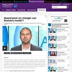 Xavier Lecocq, Université de Lille (IAE) et IESEG - Quand peut-on changer son business model