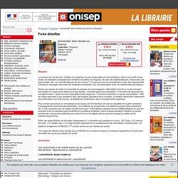 Guide ONISEP_Université : bien choisir sa licence