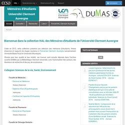 Mémoires ESPE - Clermont Auvergne