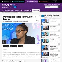L'entreprise et les communautés locales