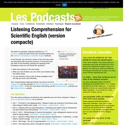 Listening Comprehension for Scientific English (version compacte)