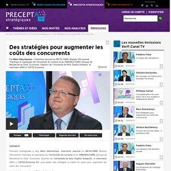 Marc Deschamps, BETA-CNRS, GREDEG, Université de Nice Sophia Antipolis, l'OFCE-Sciences Po - Des stratégies pour augmenter les coûts des concurrents