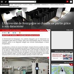 L'Université de Bourgogne se chauffe en partie grâce à son datacenter