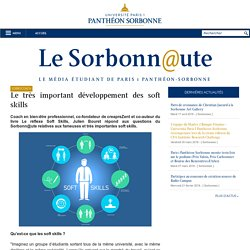 Université Paris 1 Panthéon-Sorbonne: Le très important développement des soft skills