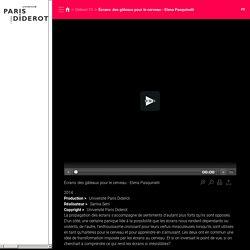 Écrans: des gâteaux pour le cerveau - Elena Pasquinelli