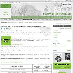 L'Atelier Doc : se former aux outils documentaires en45min !