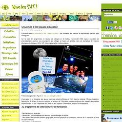 Université d'été Espace-Education - CNES Toulouse 2014