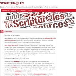 SCRIPTUR@LES : présentation du site