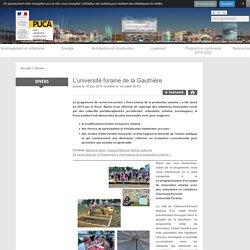 L'université foraine de la Gauthière