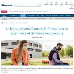 Le Mans Université développe son offre de formations en alternance