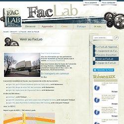 Venir au FacLab | | FaclabFaclab » Venir au FacLab