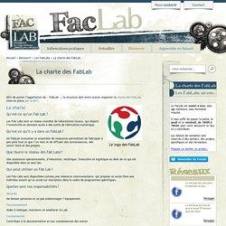 La charte des FabLab