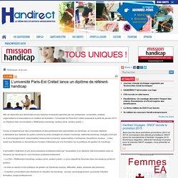 Luniversité Paris-Est Créteil lance un diplôme de référent-handicap