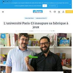 L'université Paris-13inaugure sa fabrique à jeux - Le Parisien