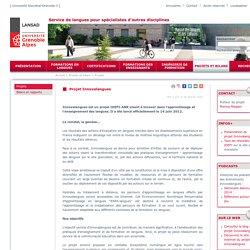Université Stendhal Lansad - Projet Innovalangues
