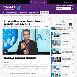 Pascal Corbel, Université Paris-Sud - L'innovation selon David Teece : pionniers et suiveurs