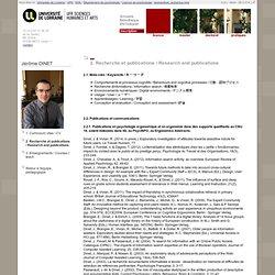 Universite Paul Verlaine - Metz : jeromedinet_recherche.html