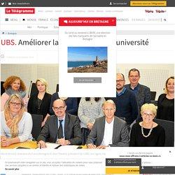 UBS. Améliorer la qualité de vie à l'université - Bretagne - LeTelegramme.fr