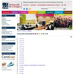[Université de Limoges]