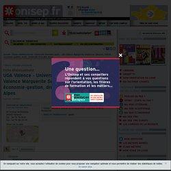 Université Grenoble Alpes - site Valence Marguerite Soubeyran (langues, lettres, économie-gestion, droit), Université Grenoble Alpes
