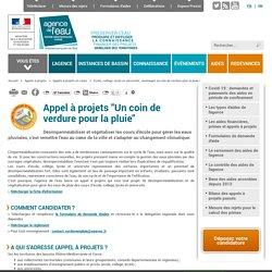 Ecole, collège, lycée et université : aménagez un coin de verdure pour la pluie ! - Agence de l'eau Rhône Méditerranée Corse