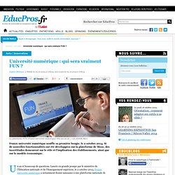 Mooc université numérique