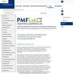 Université Paris 1 Panthéon-Sorbonne: PMF Lab