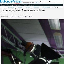 Au Teaching Lab de Sorbonne université, lapédagogie en formation continue