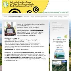 Université Populaire Rurale Val de Cher