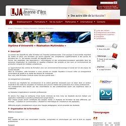 Diplôme d'Université « Réalisation Multimédia » - Formation - Lycée Jeanne d'Arc Rennes