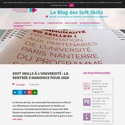 Soft skills à l'université : la rentrée s'annonce pour 2020