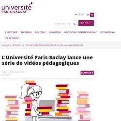 Recherche bibliographique - synthèse - vidéos Univ.Paris-Saclay