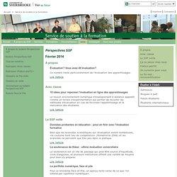 Le fin mot: MOOC: Service de soutien à la formation