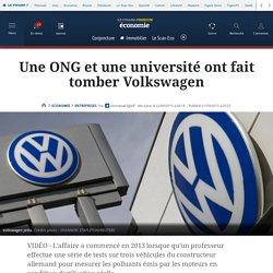 Une ONG et une université ont fait tomber Volkswagen