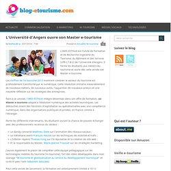 L'Université d'Angers ouvre son Master e-tourisme