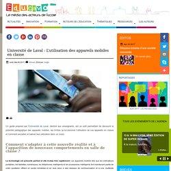 Université de Laval : L'utilisation des appareils mobiles en classe
