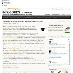 Coursera : Une université virtuelle et gratuite au bout du clavier