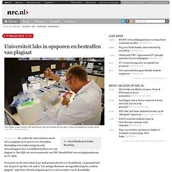 Universiteit laks in opsporen en bestraffen van plagiaat