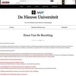 Voor een kritische universiteit en maatschappij